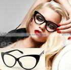 New Sexy Retro Eyeglasses Frame Fashion Clear Lens Cat Eye Women Eye Glasses FKS