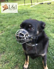 New Metal STRONG Wire Basket Dog Muzzle for Rattler Yorkshire Terrier & other