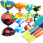 Jester Diabolo & Superglass Sticks - Pro Rubber Diablo Set with Handsticks