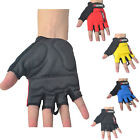 Half Finger Antiskid Cycling Bike Bicycle Ride Mountain Gloves Outdoor Breathabl
