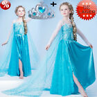 Elsa Anna Dress Mädchen Kostüme Kleid Frozen Princess Party Costume Cosplay
