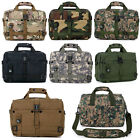 Portable Military Combat Army Handbag Shoulder Notebook Bag Leisure Briefcase