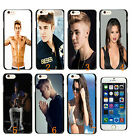 JUSTIN BIEBER CASE HARD COVER FOR APPLE iPHONE 6 PLUS MUSIC POP SINGER ACTO