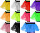Super Hot Women Girls Teen Tutu Tulle Skirt Dance Rave Neon Clubwear Halloween