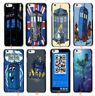 Owl Doctor Who Tardis Police Call Box Hard Case Cover For Apple iphone 5 5G 5S