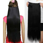 One piece Human Hair Extensions 140g-200g Five Clips In Full Head Any Color