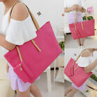 Women PU Leather Tote Shoulder Bags Hobo Handbags Satchel Messenger bag Purse EM