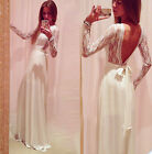 Lace+Chiffon Wedding Bridesmaid Formal Gown Party Cocktail Evening Prom Dress !!