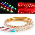 2X 30LEDs 30cm 3528SMD LED Strip Light Flexible Waterproof 12V DIY Car Decor HOA