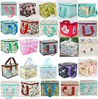 Floral Vintage Insulated Lunch Bag Recycled Tote Cool Bags Childrens Kids
