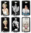 Marilyn Monroe Phone Case, Samsung Galaxy Note, Note 2, Note 3, Note 4