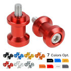 6mm Swingarm Spools For Yamaha R1 R6 Aprilia RSV1000 Triumph Daytona 675 06-08 $7.49 USD on eBay