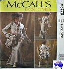 Steampunk!  McCALLS SEWING PATTERN Victorian Bustle Skirt Jacket Costume 6770