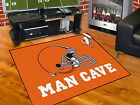 Cleveland Browns Man Cave Area Rugs 3 Sizes
