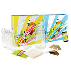 Gin Vodka Infusion Kit - Gift Set Mason Jar and Small Bottles With Recipe App