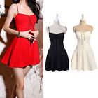 New Fashion Women Sexy Vest Sleeveless Party Dress Evening Cocktail Mini Dress