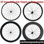 240s Straight pull 23mm width 24/38/50/60/88mm Tubular Clincher carbon wheels