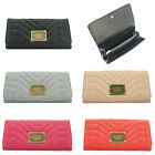 Ladies LYDC Quilted Faux Leather Purse Boxed Wallet PL(283)