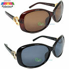 Womens Sunglasses Polarized Big Round Lens Ladies Driving Fashion Vicky NEW