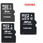 Original Toshiba Micro SD SDHC 8GB/16GB/32GB C4 TF Memory Card for Phone tablet