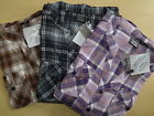 WOMANS LADIES 100% BRUSHED COTTON WARM MID-WEIGHT COTTON CASUAL CHECK SHIRT