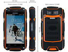 """Unlocked Discovery V8 3G Smartphone 4.0"""" Waterproof 5.0MP Rugged Android 4.2 GPS"""