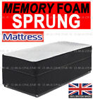 "10"" TUFTED ORTHOPAEDIC MATTRESS DOUBLE 4FT6 5FT KING SIZE MAXI COVER"