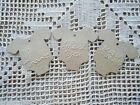 10 Kraft Brown Gift Tags Favour Bomboniere Baby Shower Christening Embos