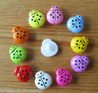 7 - Novelty Buttons - Ladybird/bug - 14mm - Baby - Kids - Knitting/Sewing/Cards