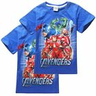 2015 Cute Cartoon Marvel's The Avengers Kids Boys Girls Tops T-Shirt Clothes 2-7