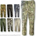 MENS ARMY COMBAT TROUSERS 30-44 CAMO CARGO PANTS BIKER WORKWEAR HIKING MECHANIC