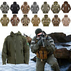 Men's Tactical Outdoor Jackets Waterproof Coat Military Hoodie Hunting Shell