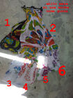 COPRICOSTUME art 6 VESTITO o gonna taglia unica ESTATE MARE SOLE dress sea
