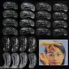 24 Styles Eyebrow Grooming Stencil Template Make Up Shaping Shader DIY US SELLER