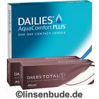 DAILIES AquaComfort Plus - 90er + 2x 5er Dailies Total 1 Tageslinsen (100St.)