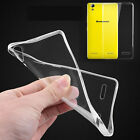 UltraThin Slim Crystal Clear Transparent Soft Silicone TPU Case Cover For Lenovo