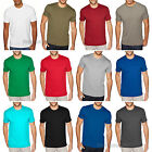 Next Level Mens Premium Fitted Sueded Crewneck T Shirt Tee S