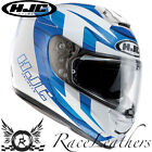 HJC R-PHA ST MURANO WHITE BLUE FULL FACE MOTORCYCLE MOTORBIKE BIKE HELMET