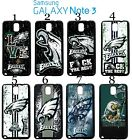Philadelphia Eagles Samsung Galaxy Note 3 Case Hard Silicone Case