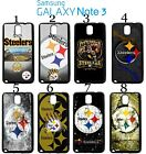 Pittsburgh Steelers Samsung Galaxy Note 3 Case Hard Silicone Case ##