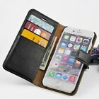 For iPhone 6/6s, 6/6s plus Genuine Leather Wallet Case Stand Flip Cover 1