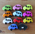 4 - Novelty Buttons - Beetle Car # 2 - 25mm - Baby/Kid's - Knitting/Sewing/Cards