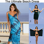 Saress OCEAN Maxi Beachdress Coverup Swimwear Bikini Wrap Sarong Dress