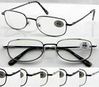 L37 3 Pairs Classic Style Design Spring Hinges Reading Glasses Only £6.88+50+100