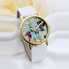 Women Fashion Watches Vases Dial Leather Band Quartz Analog watch Wristwatches