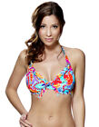Lepel Fiesta Multi Coloured Print Halterneck Bikini Top 147462