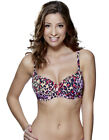 Lepel Lilly Animal Print Moulded Balconette Bra 150304