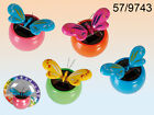 SOLAR POWERED BUTTERFLY MOVING CAR DASHBOARD ORNAMENT VARIOUS COLOURS