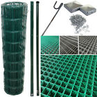 Pvc Coated Wire Mesh Fencing Wire Galvanised Garden Nail Metal Fence Posts Rolls