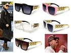 NEW CELEBRITY STYLE CHUNKY GOLD LINK CHAIN SUNGLASSES